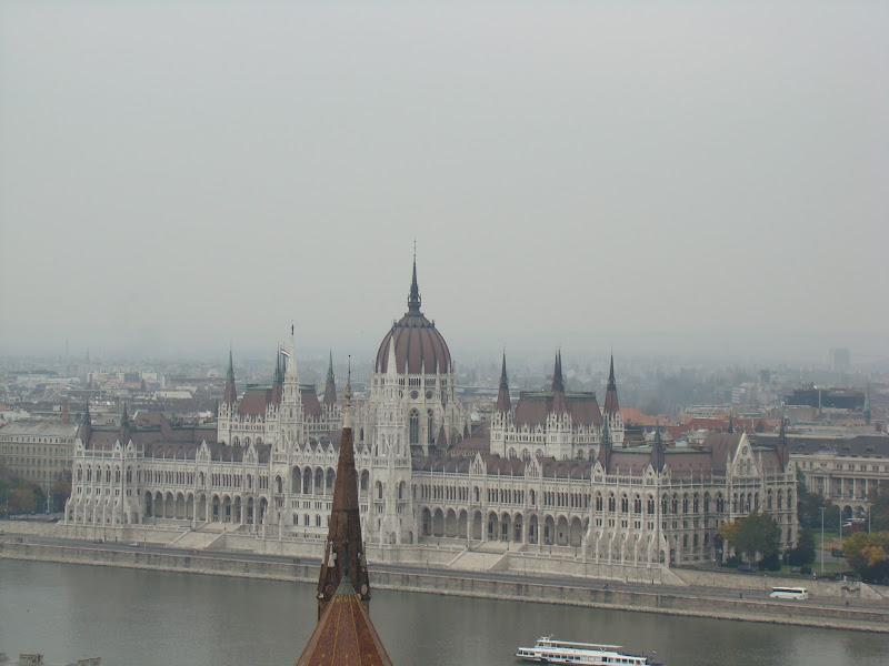 Panorama de Budapest desde el Bastión de Pescadores