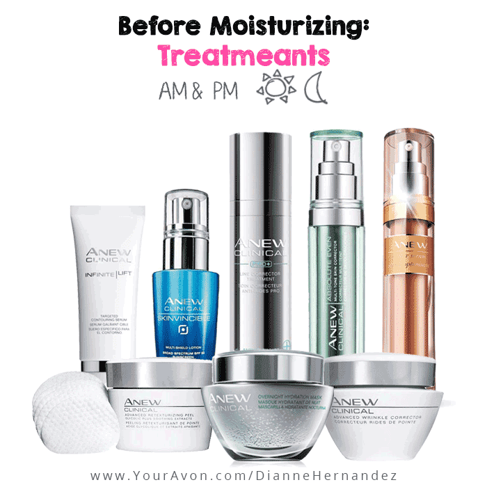 How to use Avon Anew Clinical Products