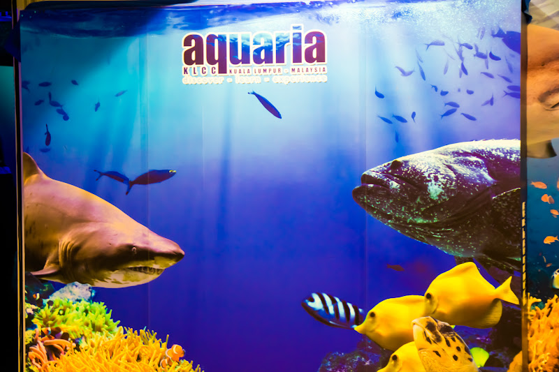 Aquaria KLCC entrance