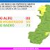 Mapa de Risco: Semana começa com 5 municípios em risco moderado de contágio