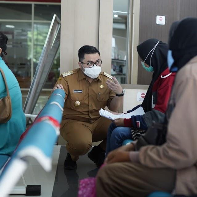 Mas Bup Berencana Membangun RS Darurat Sementara di Dekat SLG