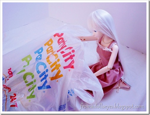 Finding Doll Props: At The Party Store? What's in the bag?