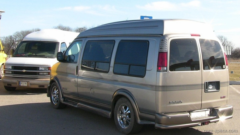 2001 gmc savana van specifications pictures prices. Black Bedroom Furniture Sets. Home Design Ideas