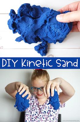 easy diy kinetic sand