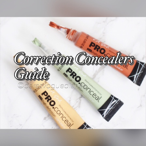 your guide to color correction concealers - Concealer Color Guide