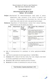 Total Number of posts advertised 232 by JKSSB