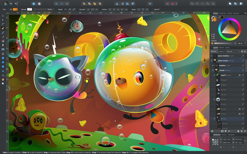 Affinity Designer: Professional Vector App for Graphic Designer