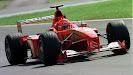 Michael Schumacher Ferrari F1-2000 Italy