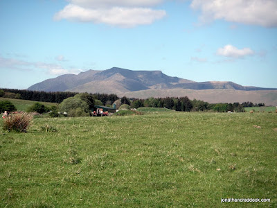 Looking towards Blencathra