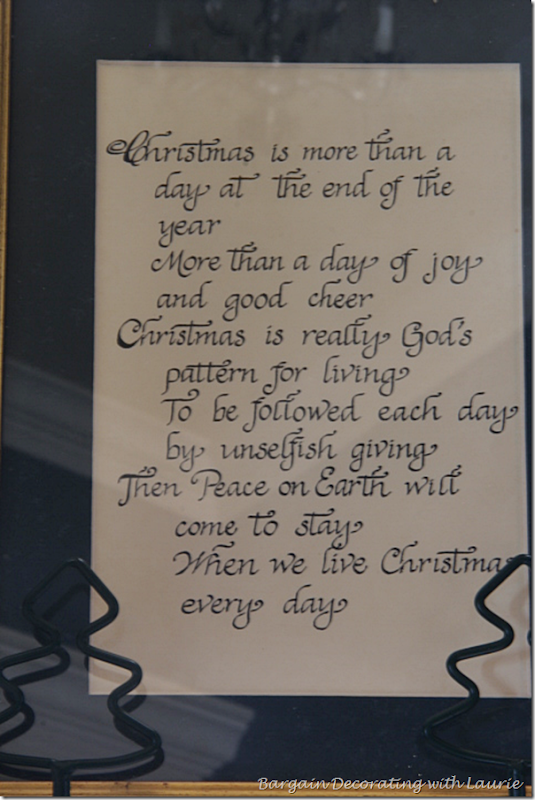 Christmas is more than a day at the end of the year