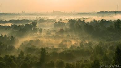 Photo: Widok na Kraków z ruin fortu Bodzów