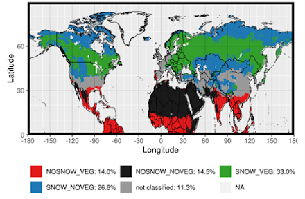 Διεθνής Ερευνητική Ομάδα διαπίστωσε πώς το χιόνι και η βλάστηση ρυθμίζουν την υπερθέρμανση του κλίματος