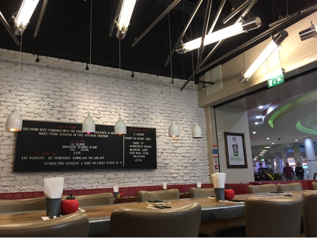 Gourmet Burger Kitchen, Metro Centre, Newcastle, Food Review