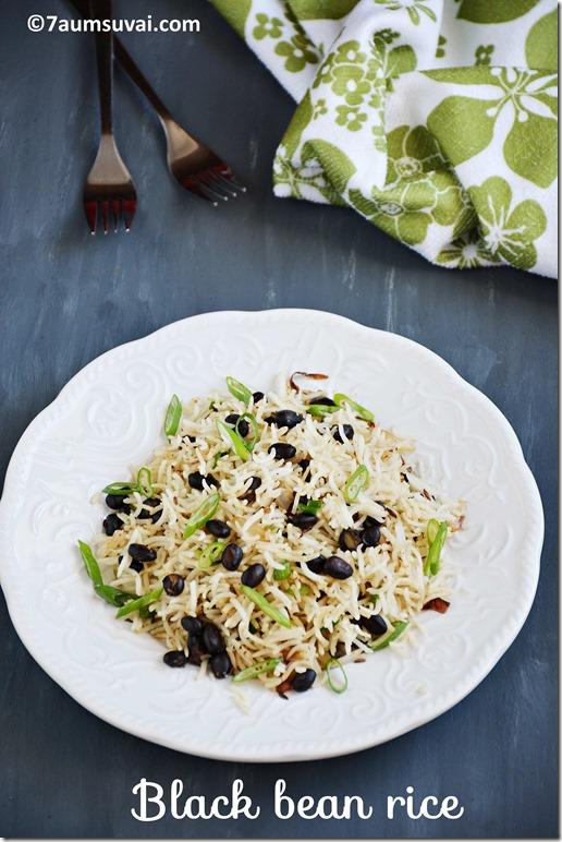 Black bean rice pic 2