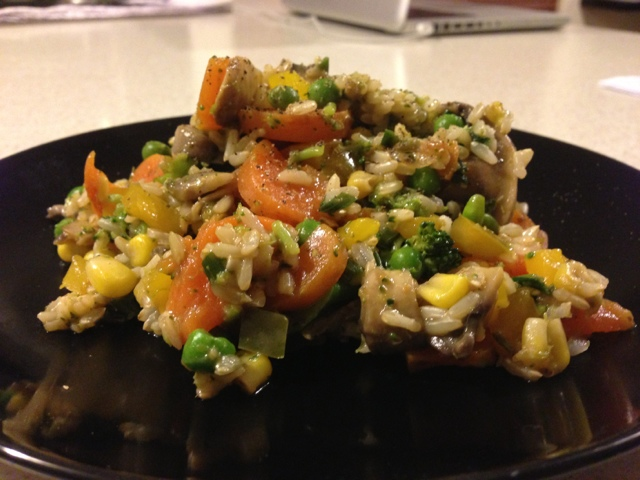 Simply Thermomix Blog: Brown 'Fried' Rice in the Thermomix