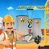 Nuclear Power Plant Construction Builder Simulator