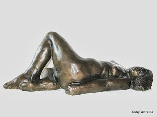 Sunbather, bronz, 15in. L