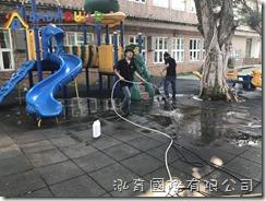 BabyBuild橡膠地墊清洗