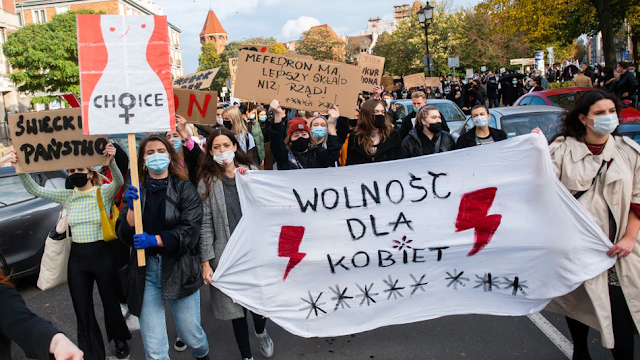 Activists In Poland Protest After Court Rules Women Can't Abort Babies With Congenital Defects