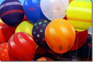 giveaway balloons