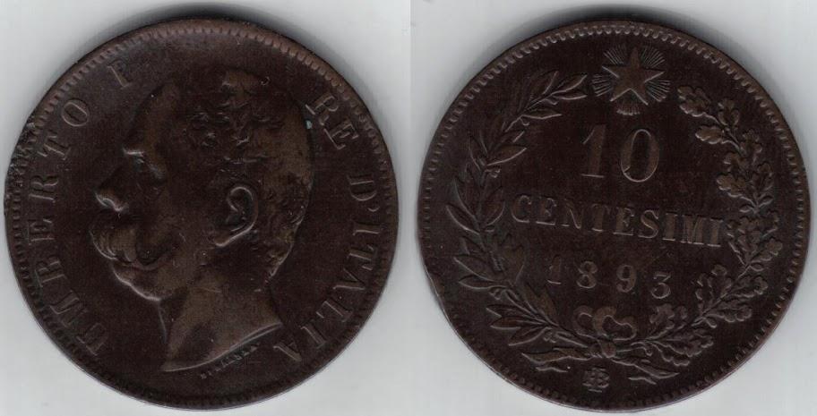 Mi colección de monedas italianas. 10%20centesimi%201893%20BI