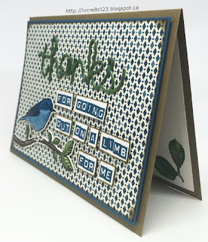 Linda Vich Creates: Best Birds Thank You. Learn how the bird was created to look 3D on this delightful thank you card.