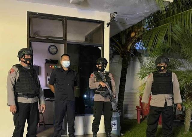 Brimob Batalyon A Pelopor Cegah Kriminalitas di Ronda Sahur Kota Balikpapan