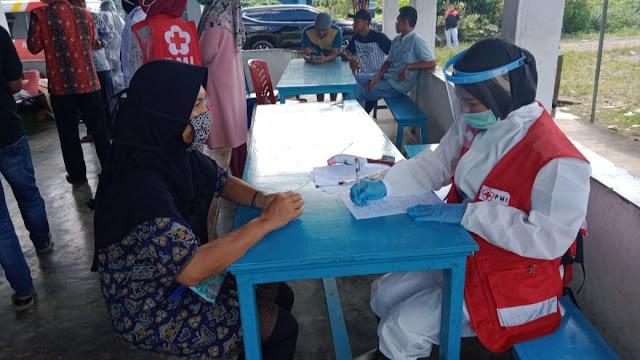 PMI Pasbar Gelar Donor Darah Massal