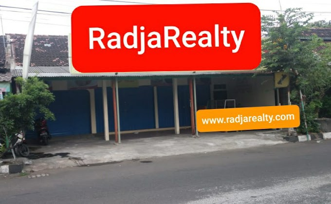 Ruko Ruang Usaha Strategis Kawasan Premium Bisnis Tengah Kota Pinggir Jalan Raya Seputar Prawirotaman Kodya
