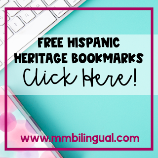 Bilingual bookmarks