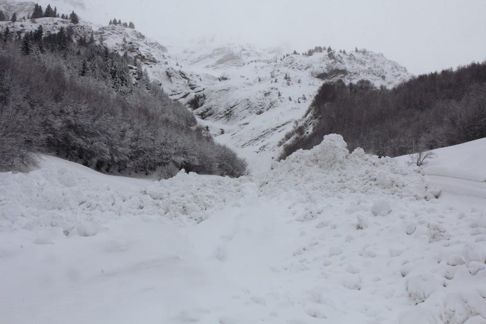 Avalanche Aravis, secteur Aiguille de Borderan, Nant Parreux - RD 909 - Photo 1