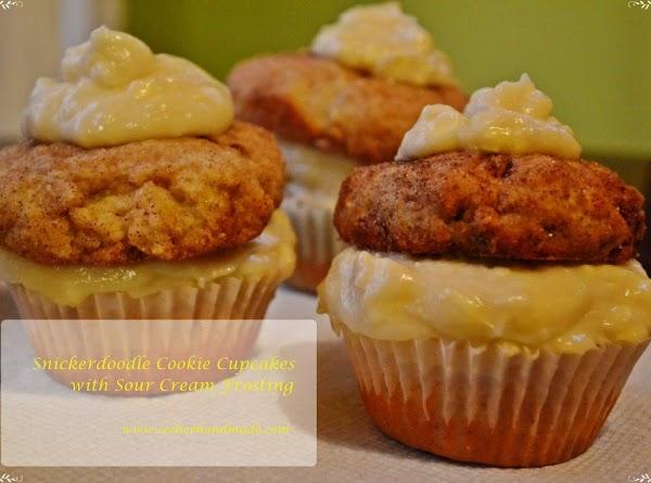 Snickerdoodle Cookie Cupcakes Recipe