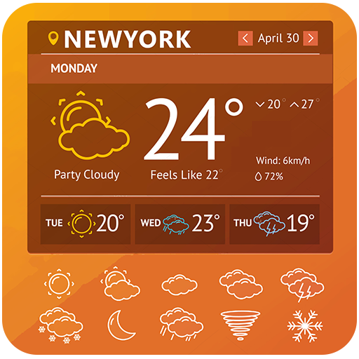 Weather Forecast Live Temperature Reports