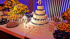 Fotos de decoração de casamento de Casamento Diana e Fausto na Sociedade Germania da decoradora e cerimonialista de casamento Liliane Cariello que atua no Rio de Janeiro e Niterói, RJ.