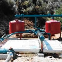 Central de filtragem em barragem (Caria - Belmonte)