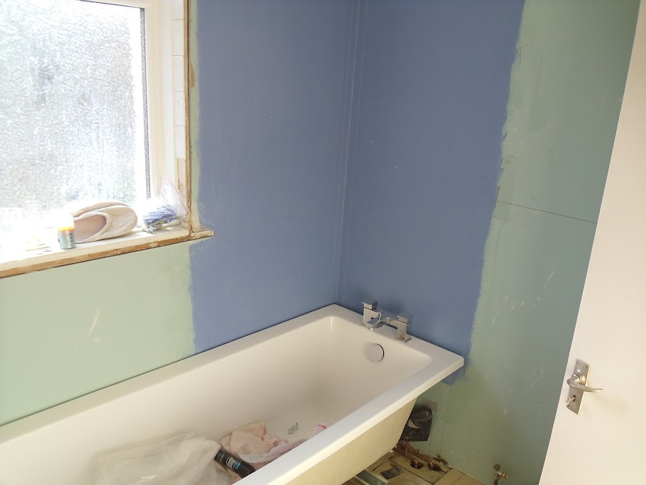 Bathroom refit - plasterboard and tanking question ...