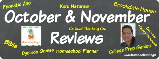 Reviews at Homeschooling6