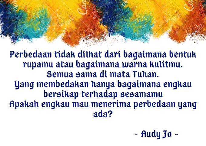 Audy Jo Quote