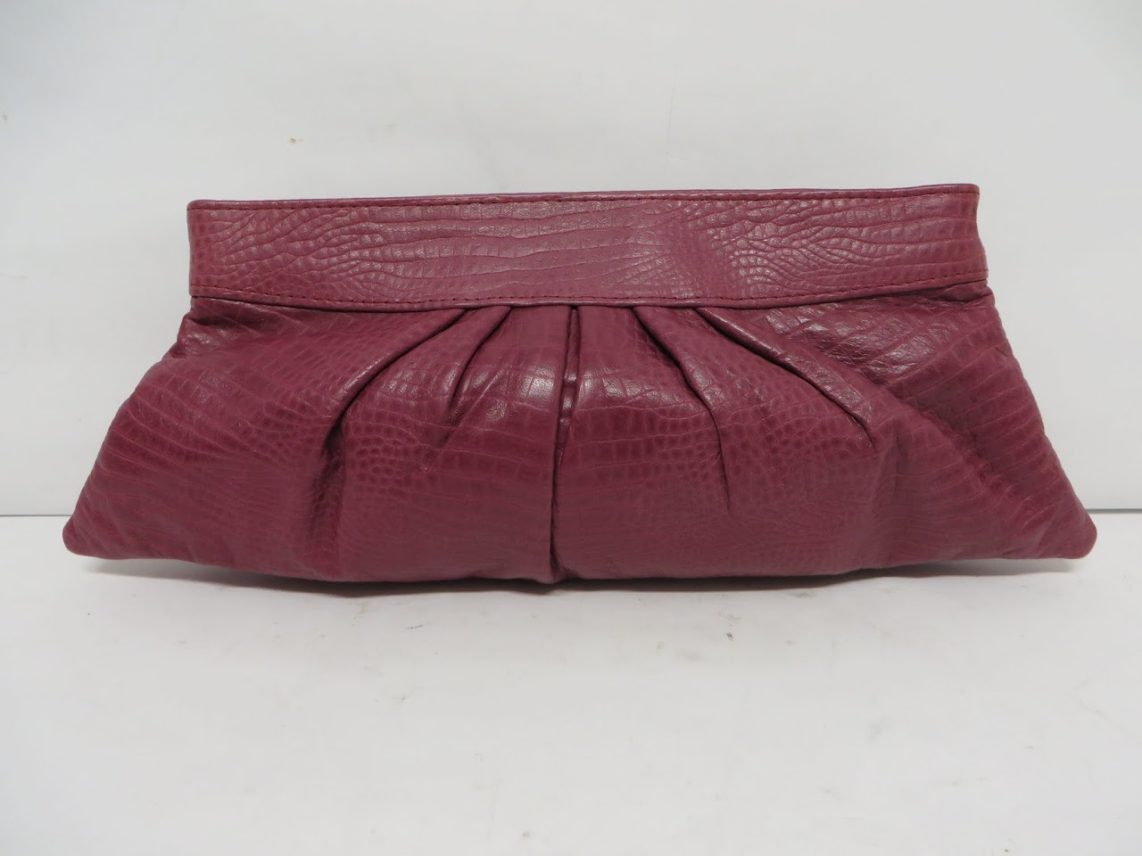 Lauren Merkin Purple Clutch