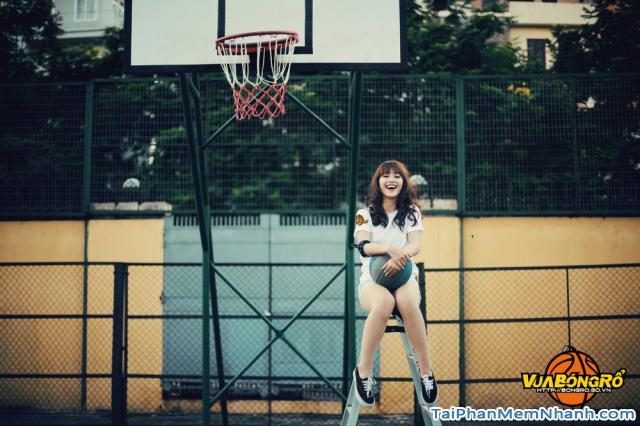 gái xinh game vua bóng rổ 3