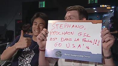 Photo: Go! USA! Prochain GSL!