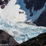 Glaciar na Trilha Laguna de los Tres, Parque Nacional Los Glaciares, El Chaltén, Argentina