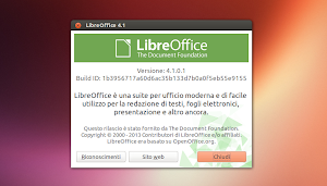 LibreOffice 4.1 in Ubuntu Linux
