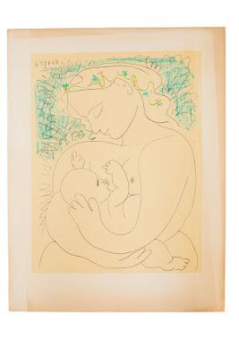 Patty Villegas - The Lifestyle Wanderer - Casa de Memoria - Tercero Online Auction - Pablo Picasso - Maternite