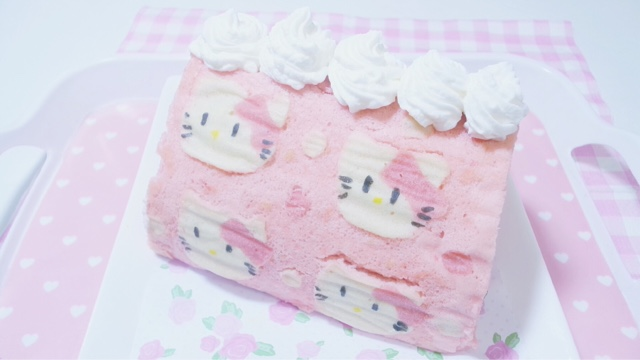 Hello kitty deco swiss roll - Deco chambre hello kitty ...