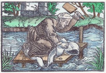 Woodcut 10 From The Prognostications Of Paracelsus, Emblems Related To Alchemy
