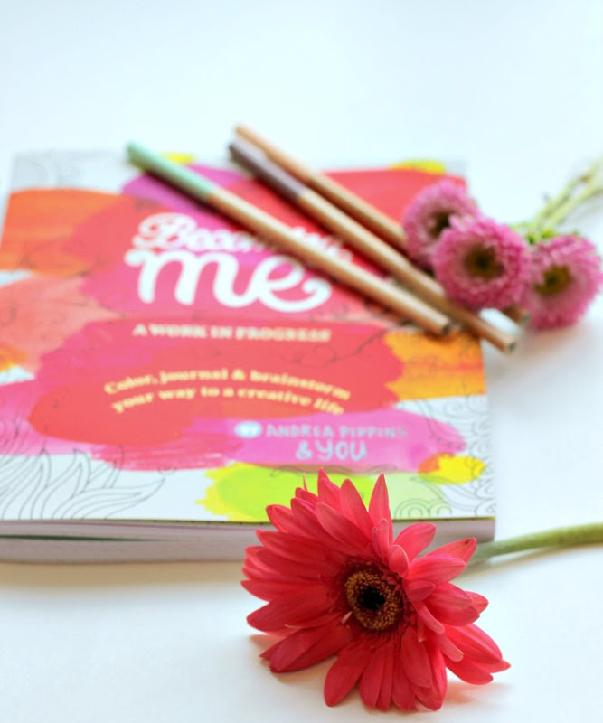 Becoming Me Book Review Cover Flower