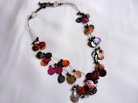 Multistrand Circular Shell Necklace