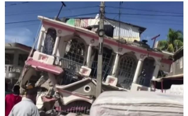 Tragédia, Número de mortos em terremoto no Haiti se aproxima de 2 mil