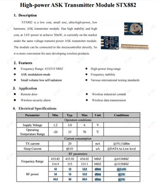 RM Pro拆機(STX882發射模塊)